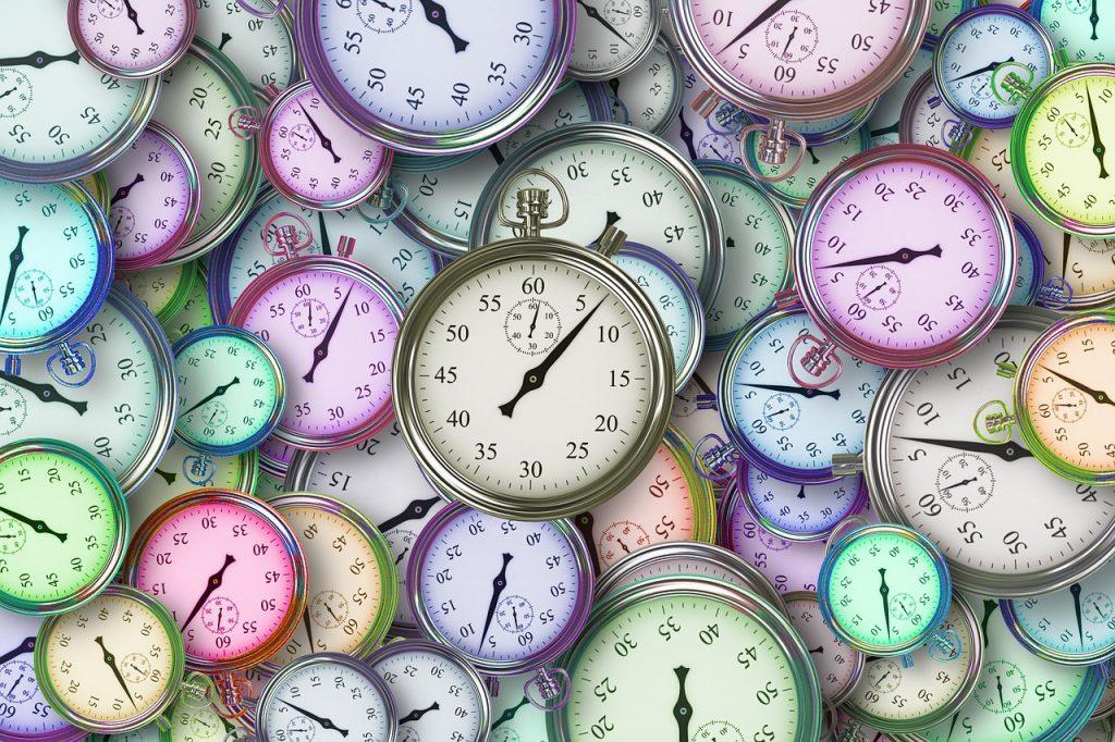 many clock